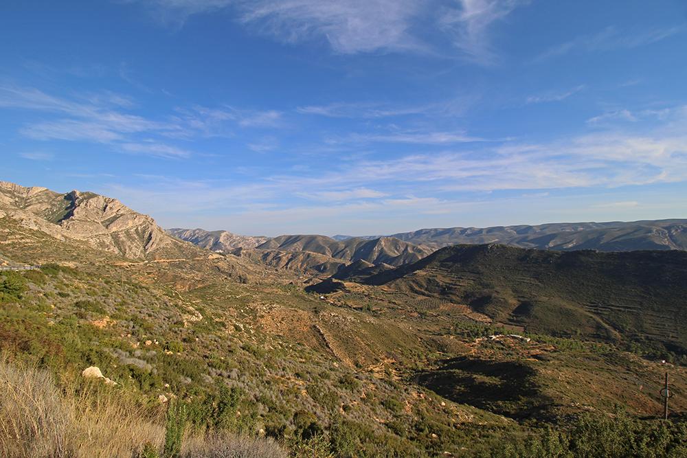 Aussichtspunkt Sierra del Ave, Provinz Valencia