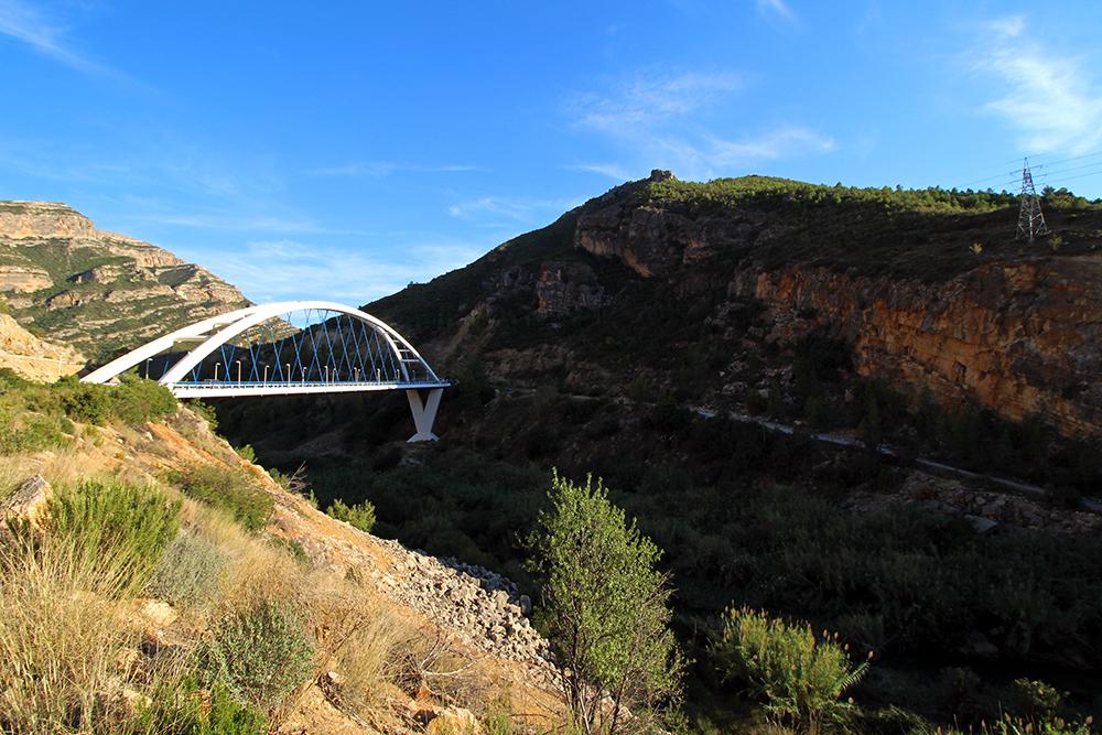 Brücke bei Millares, Valencia (Spanien)