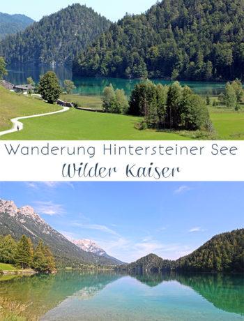 Wanderung am Hintersteiner See, Kaisergebirge in Tirol