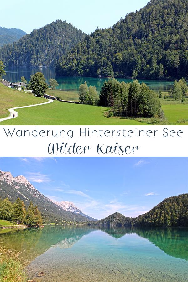 Wanderung am Kaisergebirge: vom Hintersteiner See zur Walleralm