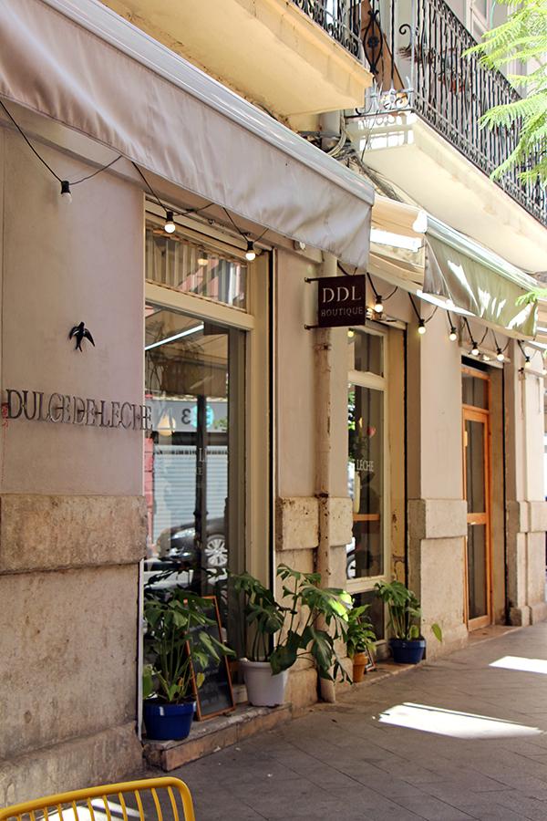 Dulce de leche Cafe in Ruzafa, Valencia