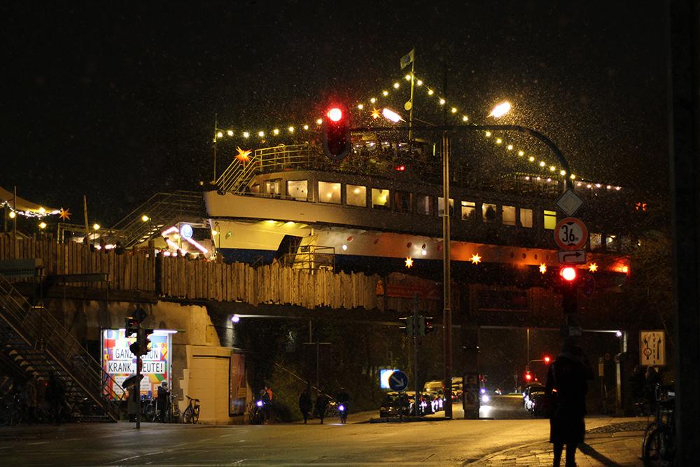 Weihnachtsmarkt auf der Alten Utting in München