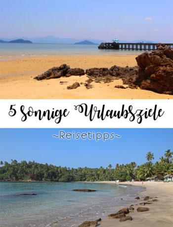 Sonnige Reiseziele - Tipps für den Urlaub in warmen Ländern