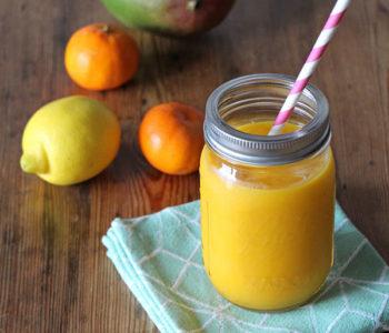 Rezept für Immunbooster Smoothie mit Zitrusfrüchten