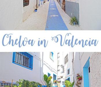 Altstadt von Chelva in Valencia