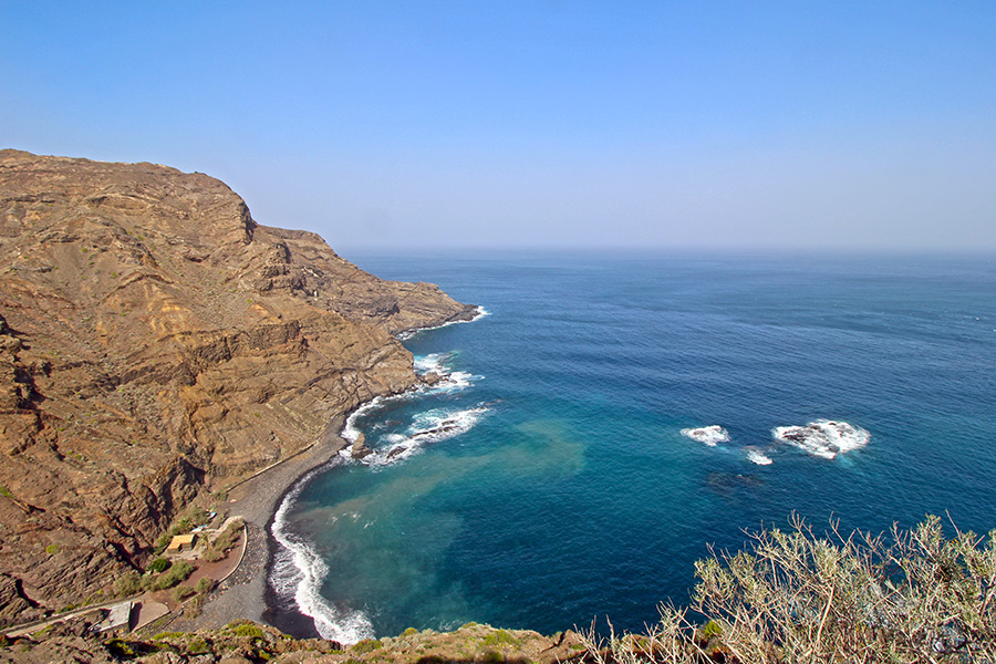 Playa La Caleta auf La Gomera