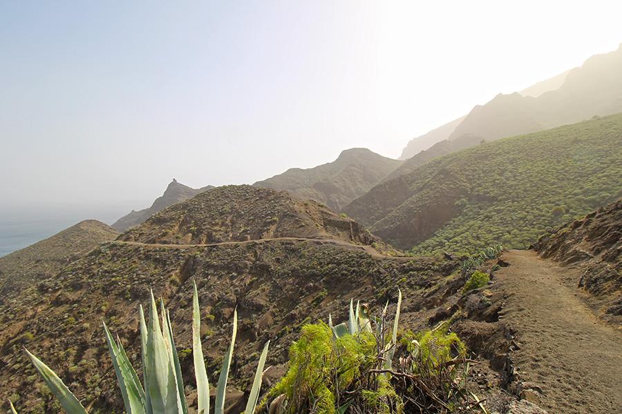 Wanderung auf Gomera Richtung Casas del Palmar