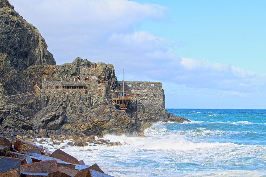 Castillo di Mar in Vallehermoso Gomera