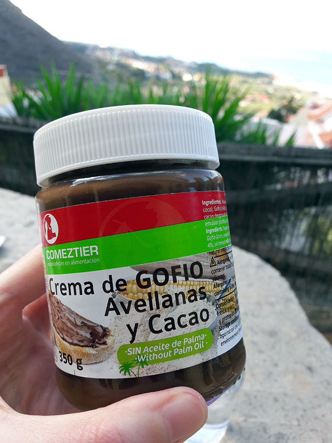 Crema de Gofio, Avellanas y Cacao - veganes Nutella