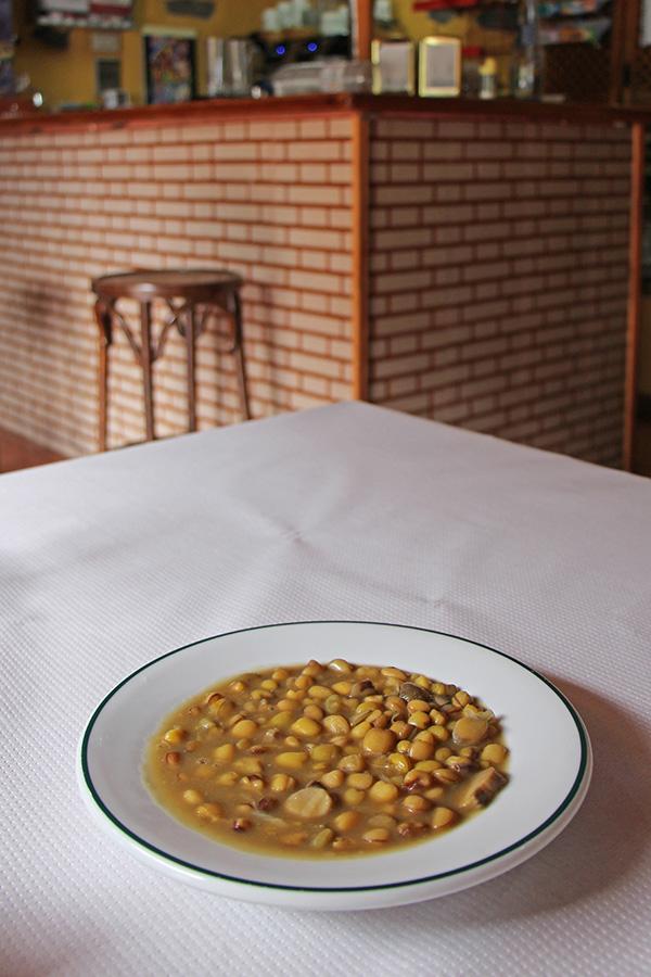 vegetarischer Eintopf auf La Gomera