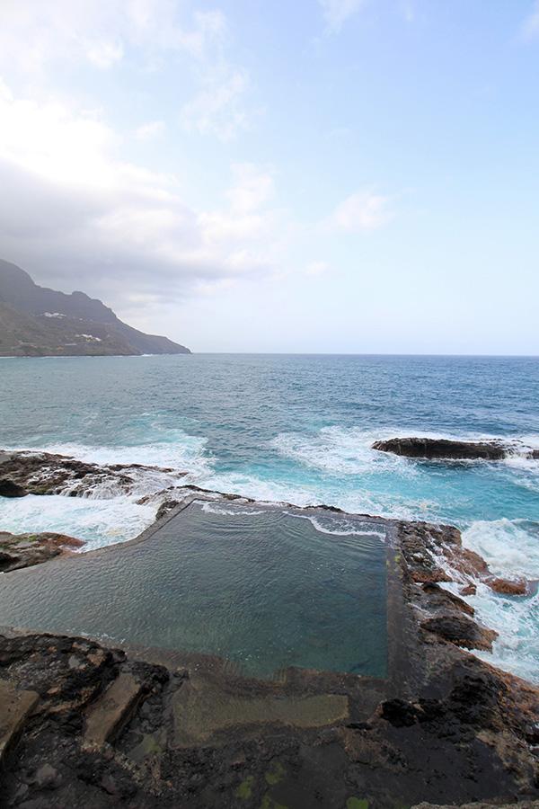 Naturschwimmbecken El Pescante in Hermigua, Gomera