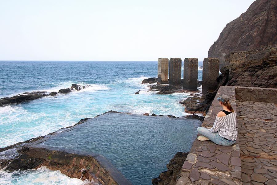 El Pescante Naturschwimmbecken auf La Gomera, Kanaren lost places