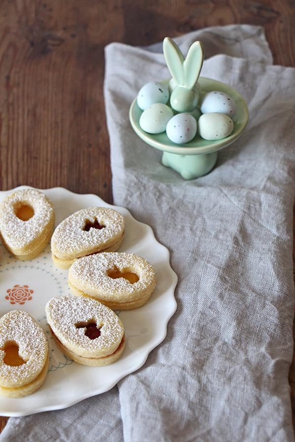 Kekse für Osternest backen, Osterrezept