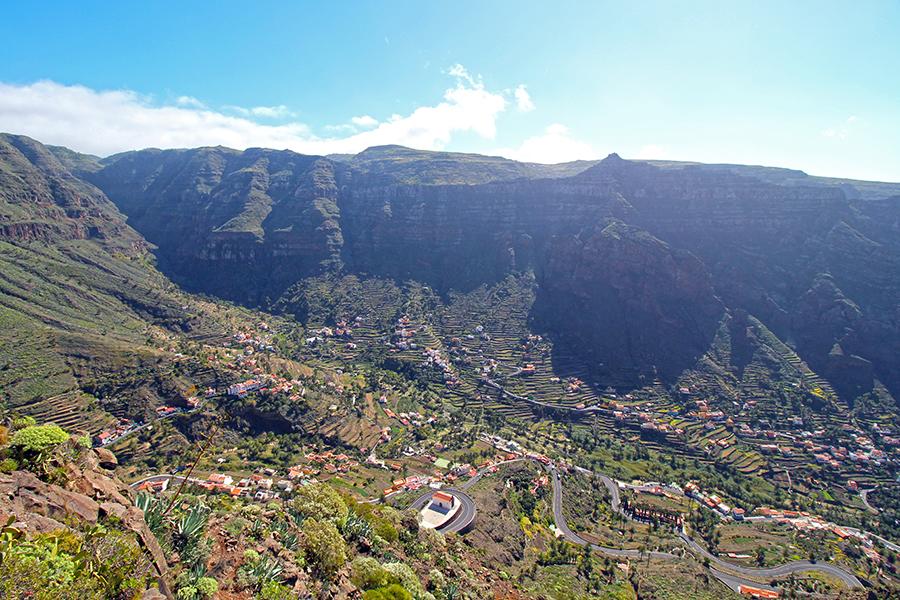 Mirador César Manrique - lost places auf La Gomera