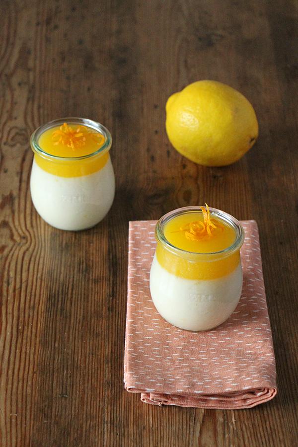 Vegane Orangen-Mousse