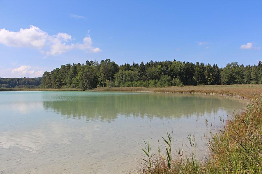 Badeplatz am Großenr Ostersee