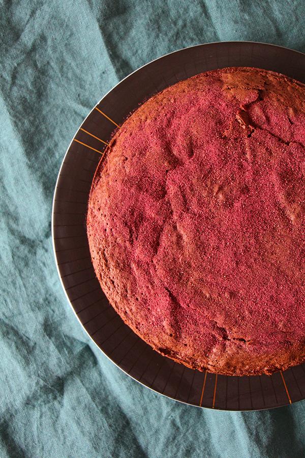 Rote-Bete-Schoko-Kuchen vegan