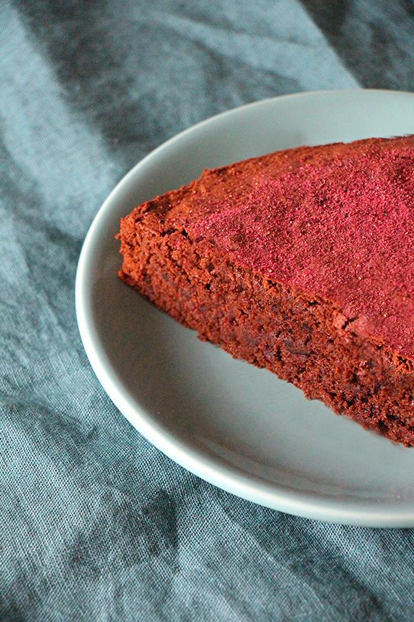 Veganer Rote-Bete-Schoko-Kuchen