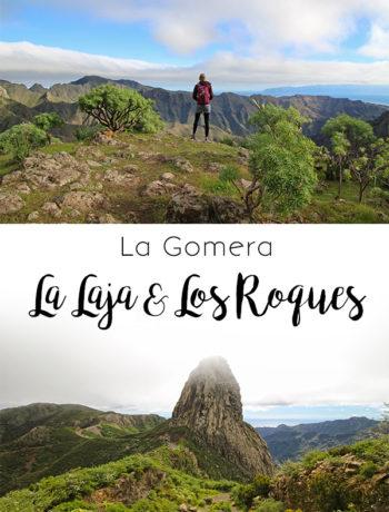 Wandern auf La Gomera: von La Laja zu den Los Roques