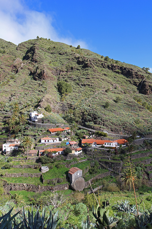 la Laja Wanderung auf La Gomera