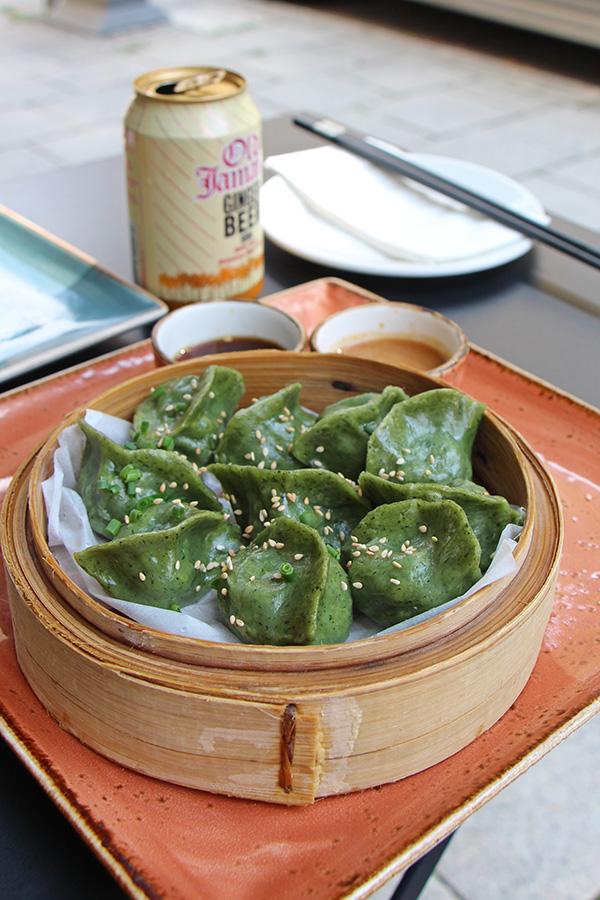 Vegane Dumplings in München