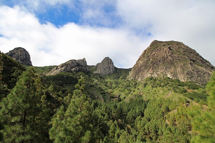 Los Roques Wanderung Gomera