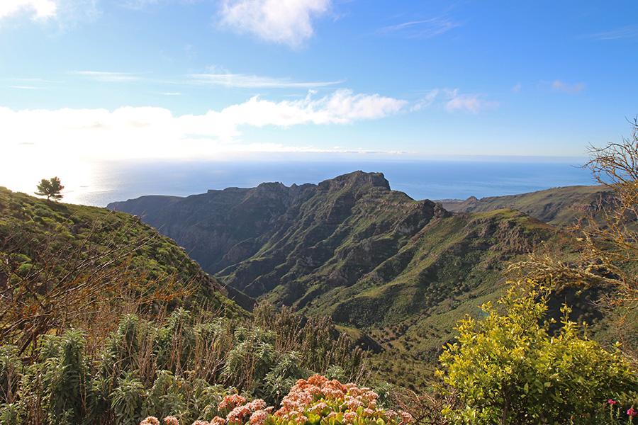 Mirador Degollada de Peraza (Aussichtspunkt auf La Gomera)