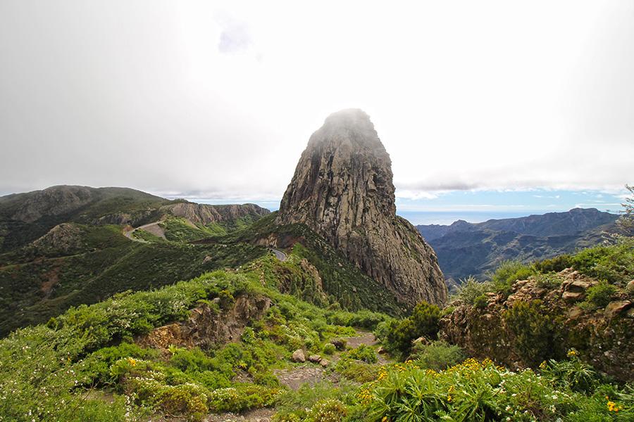 Der Roque Agando auf Gomera