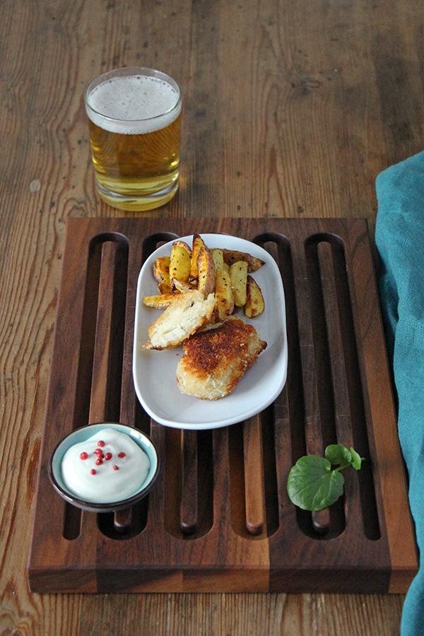 Rezept Veganer Fisch - Vegan Fish & Chips