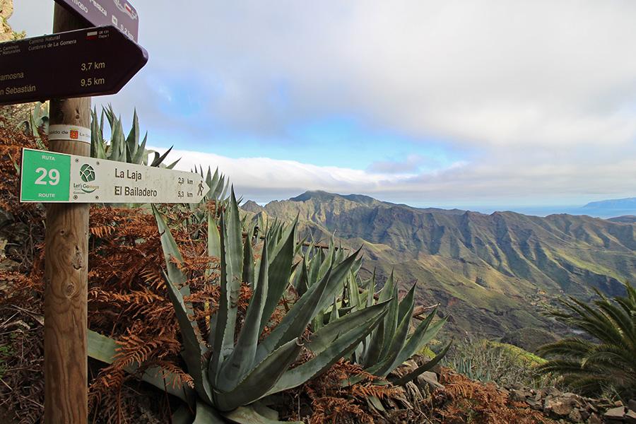 Wanderweg 29 nach La Laja, Gomera
