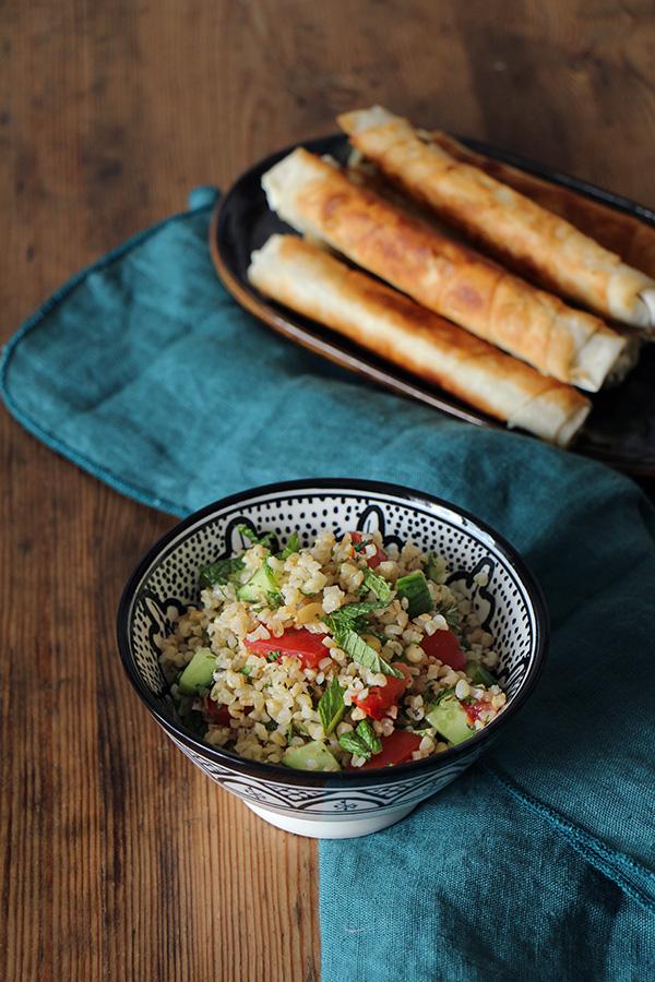 Türkischer Bulgursalat (vegan)
