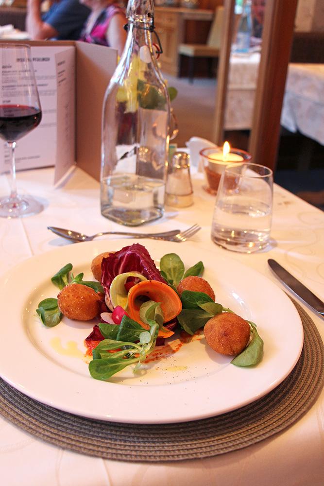 Arancini zum Dinner