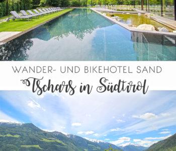 Wander- und Bikehotel Sand in Tschars, Südtirol