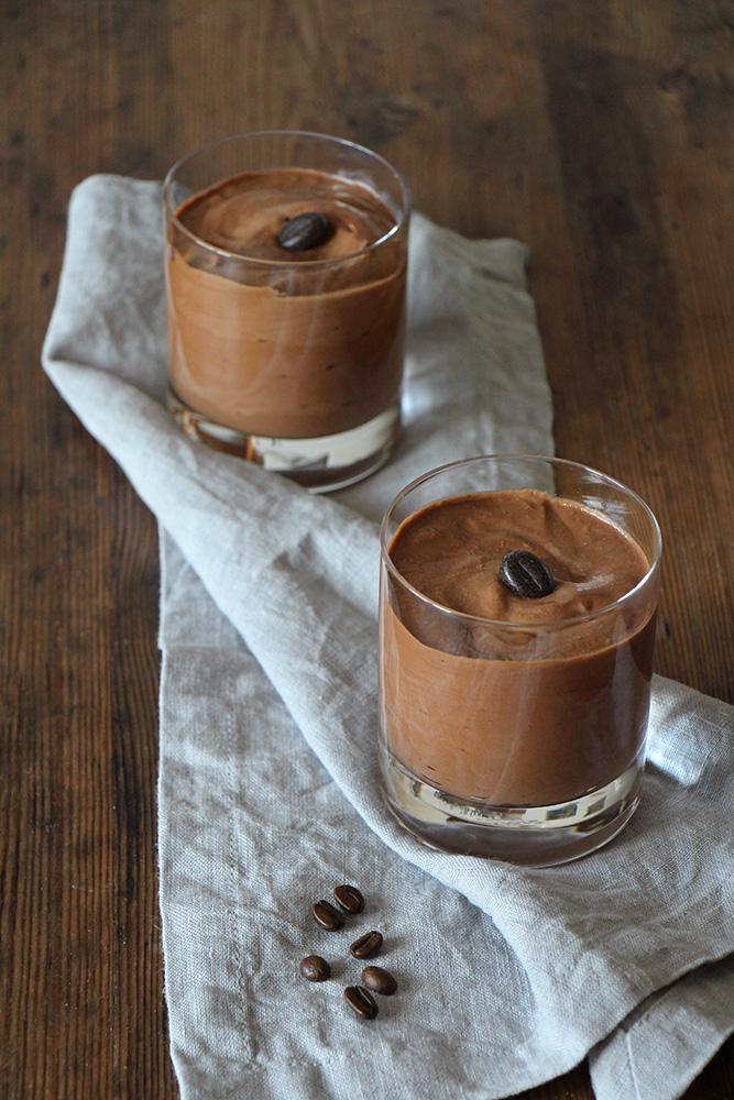 Kaffeemousse au chocolat
