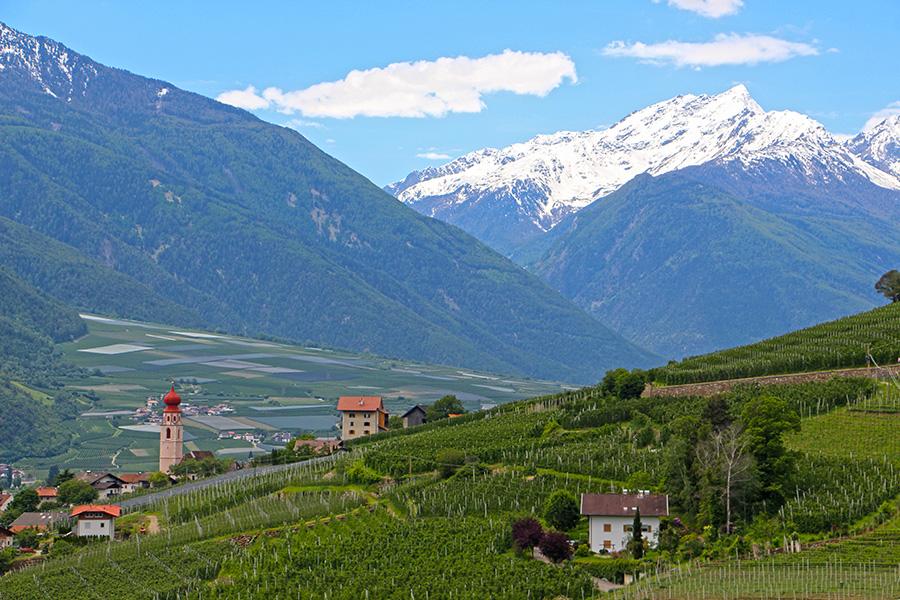 Tschars in Südtirol