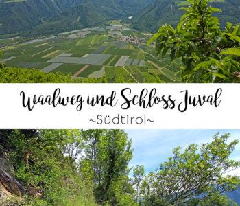 Wanderung am Waalweg von Tschars zum Schloss Juval, Südtirol