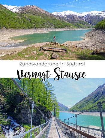 Rundwanderung um den Vernagt Stausee in Südtirol