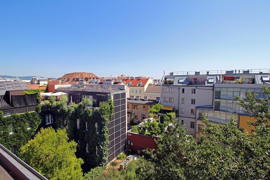 Dachterrasse Boutiquehotel Stadthalle in Wien