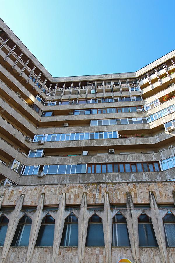 Kommunistische Architektur in Iasi
