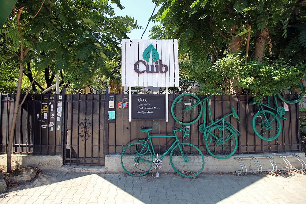 Cafe Cuib in Iasi, Rumänien