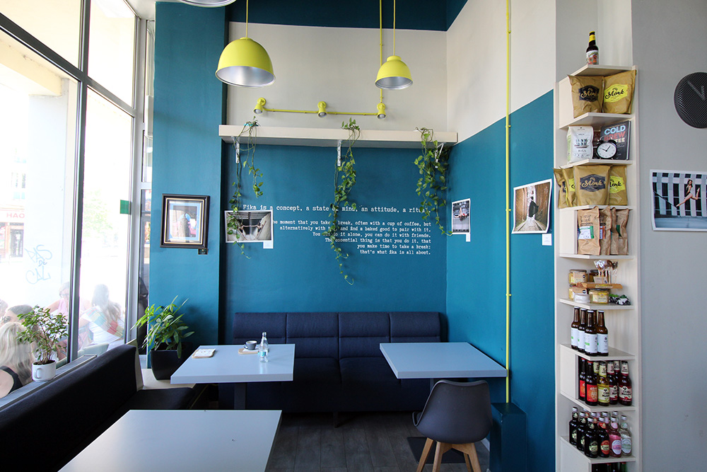 Cafe Fika in Iasi, Rumänien