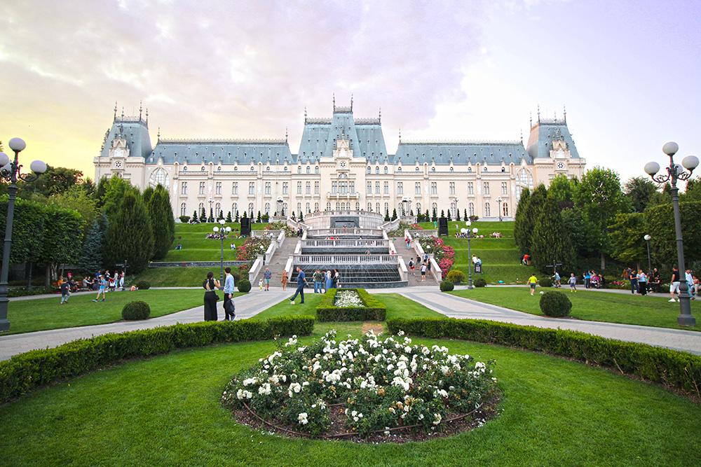 Palatul Culturii in Iasi, Rumänien