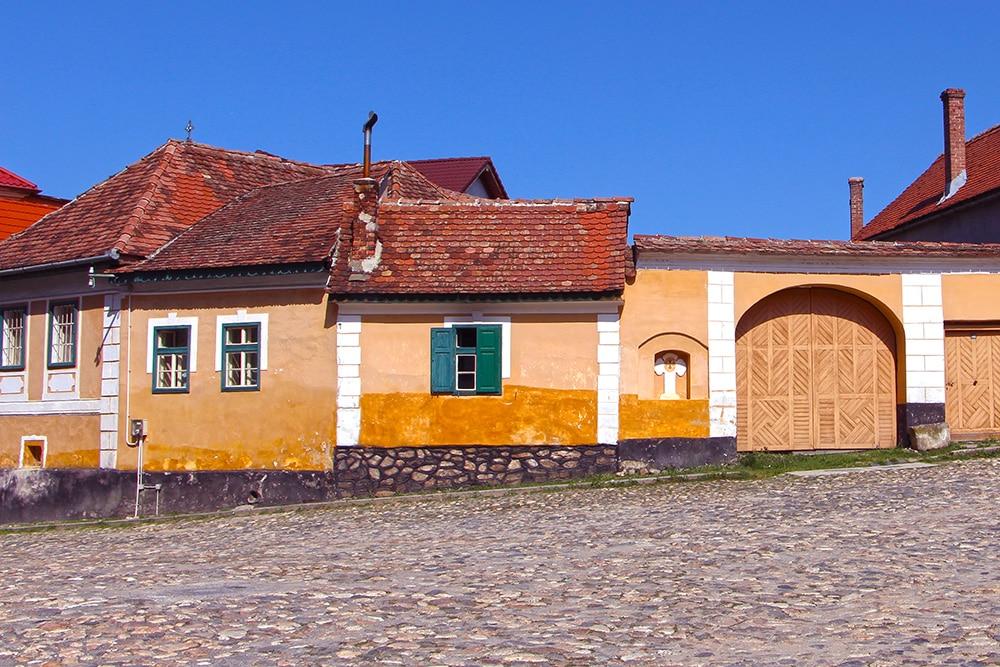 Bauerndorf Rasinari in Rumänien