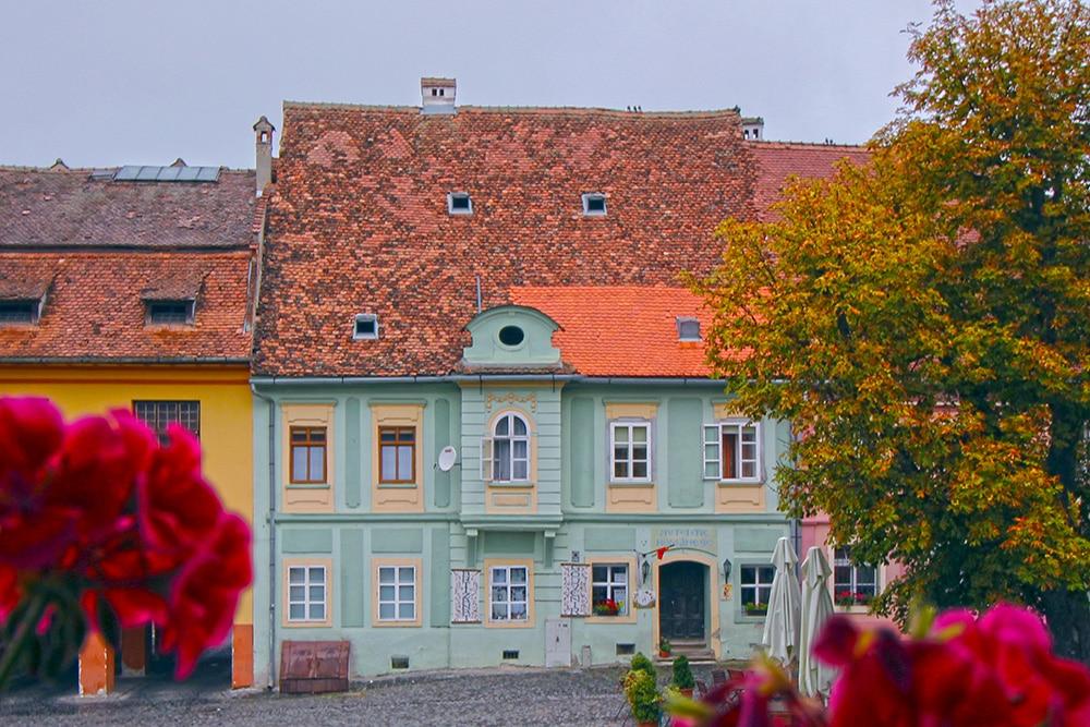 Sibiu Hermannstadt Altstadt