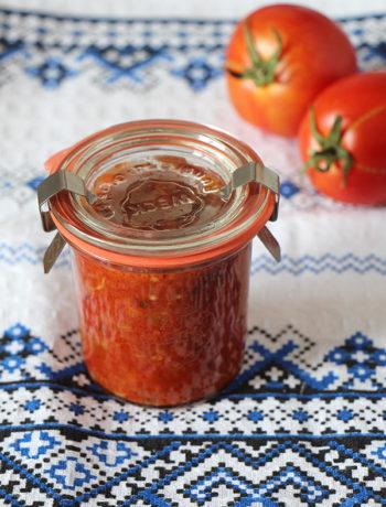 Vegane Zacusca - rumänischer Brotaufstrich