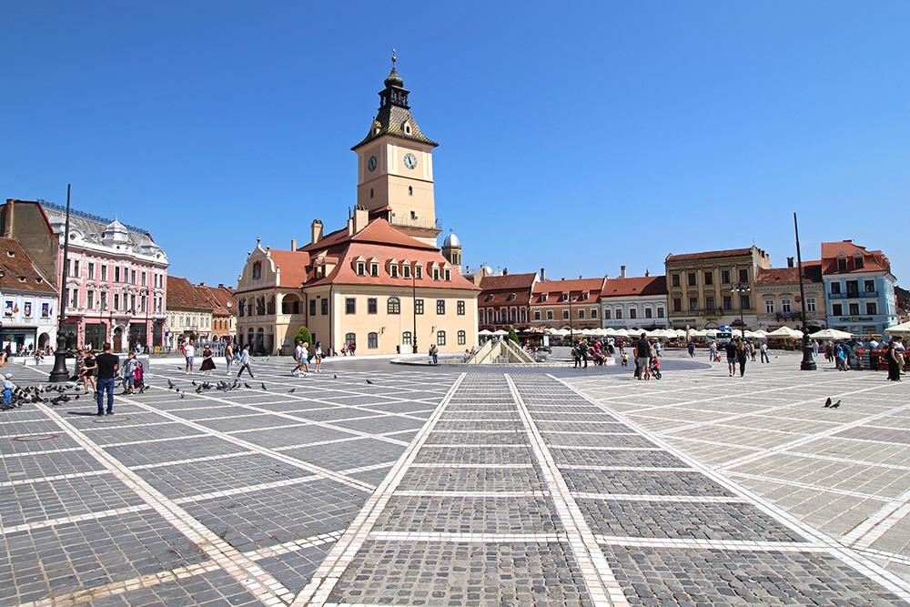 Piata Sfatului, Hauptplatz in Brasov