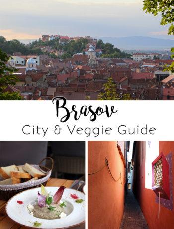 City & Veggie Guide Brasov, Rumänien