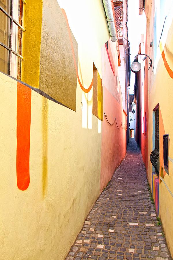 Fadengasse in Brasov (Strada Sforii)