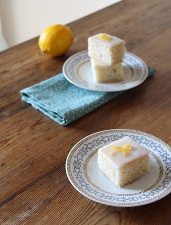 Rezept für Zitronenkuchen, vegan oder vegetarisch