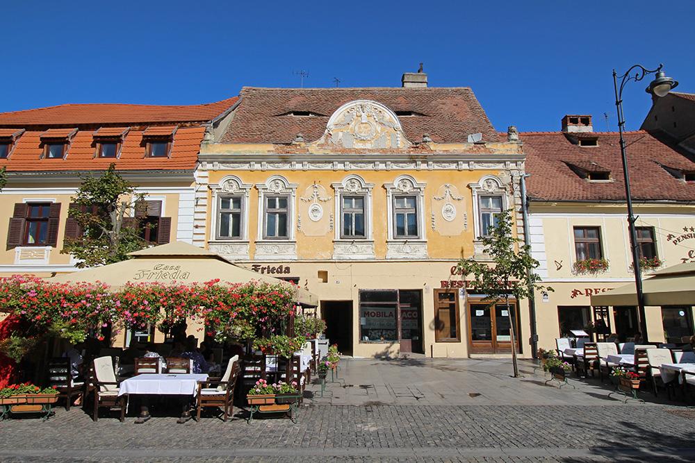 Fussgängerzone in Sibiu / Hermannstadt